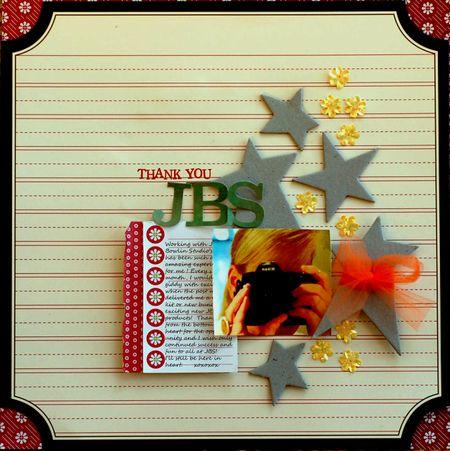 Thank you JBS